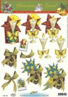 3D Bogen-Etappenbogen-Geschenk/Kerze-11053-704