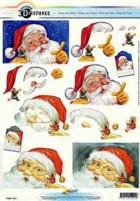 3D Bogen-Etappenbogen-Weihnachtsmann-11055-291