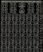Zier-Sticker-Bogen-1121schwg-Asiatische Ränder-schwarzgold