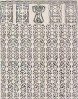 Zier-Sticker-Bogen-1121trs-Asiatische Ränder-transparent/silber