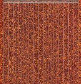 Micro-Glittersticker-glatte Ränder-orange/silber-1149gors