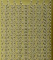 Zier-Sticker-Bogen-1150g-tierische Ränder-Elefanten