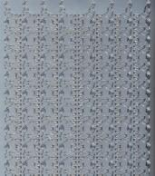 Zier-Sticker-Bogen-1150s-tierische Ränder-Elefanten
