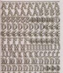Micro-Glittersticker-Alphabet-ABC-Gothic 2-transparent-gold-1155gtrg