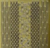 Zier-Sticker-Bogen -verschiedene Ecken & Ränder 1166g