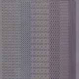 Zier-Sticker-Bogen-1167s-verschiedene Ränder