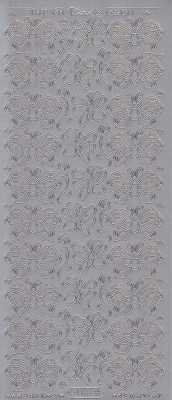 Zier-Sticker-Bogen-1188s-Schmetterlinge