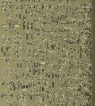 Zier-Sticker-Bogen-1190g-kleine Motive-Mini Symbole-Urlaub-Baby-Geburtstag