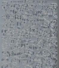 Zier-Sticker-Bogen-1190s-kleine Motive-Mini Symbole-Urlaub-Baby-Geburtstag