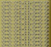 Zier-Sticker-Bogen-1199g-Teekanne-Ränder-gold