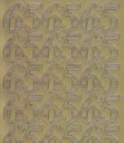 Zier-Sticker-Bogen-Jubiläums-Zahlen 65-gold-1234g