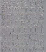 Zier-Sticker-Bogen-Alphabet-ABC-silber-1251s