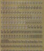 Zier-Sticker-Bogen-Alphabet-abc -gold-1324g