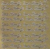 Zier-Sticker-Bogen-1422g-Zur Taufe-gold