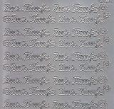 Zier-Sticker-Bogen-Zur Taufe-silber-1422s