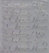 Zier-Sticker-Bogen-1514s-Einladung-Menü-silber