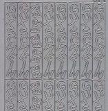 Zier-Sticker-Bogen-1539s-Gutschein-senkrecht-silber