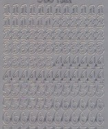 Zier-Sticker-Bogen-Zahlen-silber-1552s