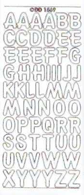 Zier-Sticker-Bogen-große Buchstaben-ABC-weiß-multi-1569wm