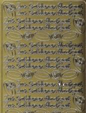Zier-Sticker-Bogen-Zur goldenen Hochzeit-1593g