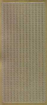 Zier-Sticker-Bogen-Ränder-Bordüren-Herzchen-senkrecht-gold-1710g