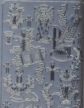 Zier-Sticker-Bogen-Kirchliche Motive-1845s
