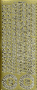 Zier-Sticker-Bogen-Jubiläums-Zahlen-gold-187g