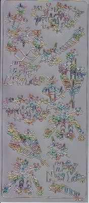 Zier-Sticker-Bogen-Hochzeit-Torte-Strauß.Ringe-Amor-silber-multi-1727sm