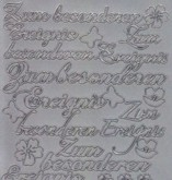Zier-Sticker-Bogen-2014s-Zum besonderen Ereignis -silber