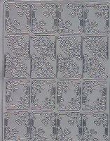 Zier-Sticker-Bogen-verschiedene Ecken-2099s