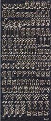 Micro-Glittersticker-abc-Buchstaben-schwarz/gold-2426gschwg