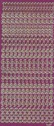 Micro-Glittersticker-Zahlen-pink/gold-2430gpig