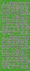 Micro-Glittersticker-ABC-Buchstaben-grün/gold-2477ggrg