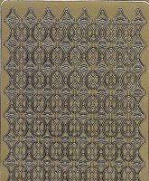 Zier-Sticker-Bogen-Ränder-gold-2486g