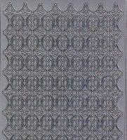 Zier-Sticker-Bogen-2486s-Ränder-silber