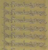 Zier-Sticker-Bogen-2518g-für Freudentränen-gold