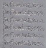 Zier-Sticker-Bogen-2518s-für Freudentränen-silber