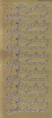 Zier-Sticker-Bogen-Herzlichen Glückwunsch-gold-2559g