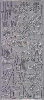 Zier-Sticker-Bogen-Grillparty-silber-2800s