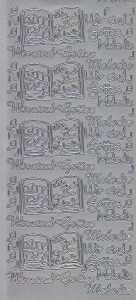 Zier-Sticker-Bogen-2806s-Kommunion-Konfirmation-Taufe-Wir sind Gottes Melodie