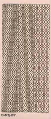 Zier-Sticker-Bogen- Ränder / Bordüren / verschiedene Breiten-rosa-gold-2843rog