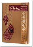 Reddy-DeLuxe Stanzbogen-303555- Weihnachtskugeln-bordeaux