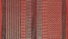 Zier-Sticker-Bogen-versch.dünne Ränder-rot/gold-309rg