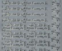 Zier-Sticker-Bogen-Herzlichen Glückwunsch-311s