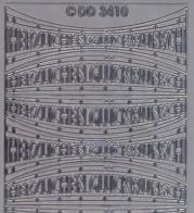 Zier-Sticker-Bogen-Herzlichen Glückwunsch-Welle-silber-3410s