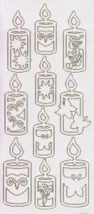 Zier-Sticker-Bogen-Kerzen-perlmut-weiß-gold-3417pwg