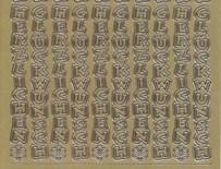 Zier-Sticker-Bogen-Herzlichen Glückwunsch-senkrecht-gold-3424g
