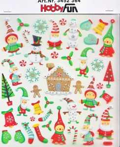 Hobby Design Sticker - HobbyFun 364- Weihnachten IV