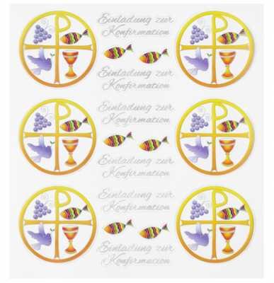 Hobby Design Sticker   HobbyFun 457  Einladung Zur Konfirmation