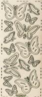 Micro-Glittersticker-Schmetterlinge-transparent/gold-361Gtrg